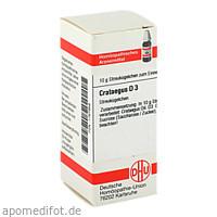 CRATAEGUS D 3, 10 G, Dhu-Arzneimittel GmbH & Co. KG
