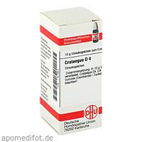 CRATAEGUS D 4, 10 G, Dhu-Arzneimittel GmbH & Co. KG