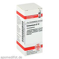 GELSEMIUM D12, 10 G, Dhu-Arzneimittel GmbH & Co. KG
