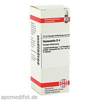 HAMAMELIS D 4, 20 ML, Dhu-Arzneimittel GmbH & Co. KG
