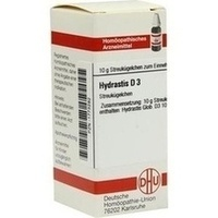 HYDRASTIS D 3, 10 G, Dhu-Arzneimittel GmbH & Co. KG