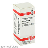 HYDRASTIS D 4, 10 G, Dhu-Arzneimittel GmbH & Co. KG
