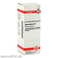 IPECACUANHA D 6, 20 ML, Dhu-Arzneimittel GmbH & Co. KG