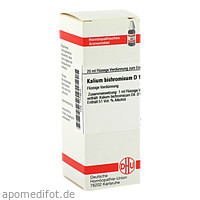 KALIUM BICHROM D12, 20 ML, Dhu-Arzneimittel GmbH & Co. KG