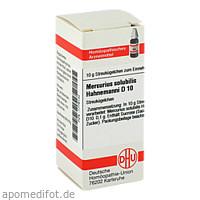 MERCURIUS SOLUB HAHNEM D10, 10 G, Dhu-Arzneimittel GmbH & Co. KG
