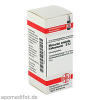 MERCURIUS SOLUB HAHNEM D12, 10 G, Dhu-Arzneimittel GmbH & Co. KG