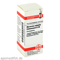 MERCURIUS SOLUB HAHNEM D30, 10 G, Dhu-Arzneimittel GmbH & Co. KG