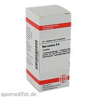 NUX VOMICA D 6, 80 ST, Dhu-Arzneimittel GmbH & Co. KG