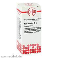 NUX VOMICA D 6, 10 G, Dhu-Arzneimittel GmbH & Co. KG