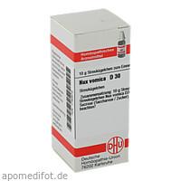 NUX VOMICA D30, 10 G, Dhu-Arzneimittel GmbH & Co. KG