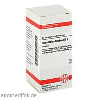 RHUS TOX D 6, 80 ST, Dhu-Arzneimittel GmbH & Co. KG