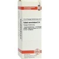 SABAL SERRUL D 4, 20 ML, Dhu-Arzneimittel GmbH & Co. KG
