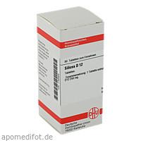 SILICEA D12, 80 ST, Dhu-Arzneimittel GmbH & Co. KG