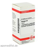 SPONGIA D 6, 80 ST, Dhu-Arzneimittel GmbH & Co. KG