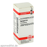 SPONGIA D 4, 10 G, Dhu-Arzneimittel GmbH & Co. KG