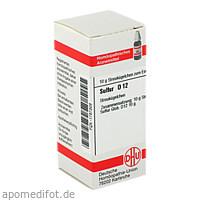 SULFUR D12, 10 G, Dhu-Arzneimittel GmbH & Co. KG