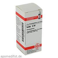 SULFUR D30, 10 G, Dhu-Arzneimittel GmbH & Co. KG