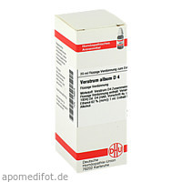 VERATRUM ALB D 4, 20 ML, Dhu-Arzneimittel GmbH & Co. KG