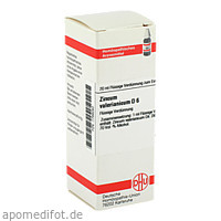 ZINCUM VALER D 6, 20 ML, Dhu-Arzneimittel GmbH & Co. KG