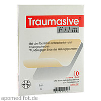 Traumasive Film 10x10cm, 10 ST, HEXAL AG
