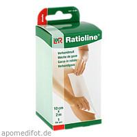 Ratioline acute Verbandmull gerollt 10cmx2m, 1 ST, Lohmann & Rauscher GmbH & Co. KG