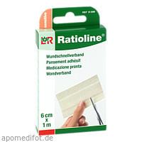 Ratioline sensitive Wundschnellverband 6cmx1m, 1 ST, Lohmann & Rauscher GmbH & Co. KG