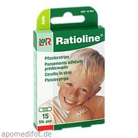 Ratioline kids Pflasterstrips, 15 ST, Lohmann & Rauscher GmbH & Co. KG