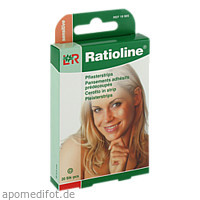 Ratioline sensitive Pflasterstrips rund, 20 ST, Lohmann & Rauscher GmbH & Co. KG