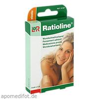 Ratioline elastic Wundschnellverband 6cmx1m, 1 ST, Lohmann & Rauscher GmbH & Co. KG