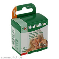 Ratioline elastic Fingerverband 2x12cm, 10 ST, Lohmann & Rauscher GmbH & Co. KG