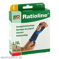 Ratioline active Handgelenkbandage Größe L/XL, 1 ST, Lohmann & Rauscher GmbH & Co. KG