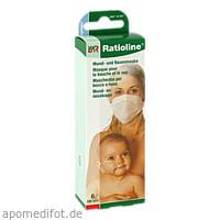 Ratioline bambino Mund-und Nasenmaske, 6 ST, Lohmann & Rauscher GmbH & Co. KG