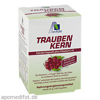 Traubenkern Extrakt Kapseln, 100 ST, Avitale GmbH