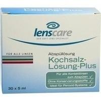 LENSCARE Kochsalzlösung Plus, 30X5 ML, 4 CARE GmbH