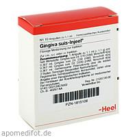 GINGIVA SUIS INJ OR, 10 ST, Biologische Heilmittel Heel GmbH