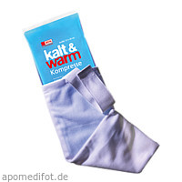 Kalt Warm Kompresse 12X29cm mit Fixierband, 1 ST, Wepa Apothekenbedarf GmbH & Co. KG