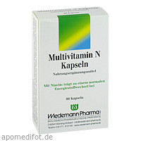 Multivitamin N Kapseln, 60 ST, Wiedemann Pharma GmbH