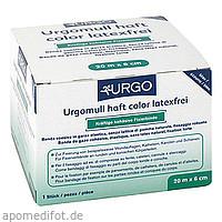 Urgomull haft color latexfrei blau 20mx6cm, 1 ST, Urgo GmbH