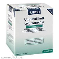 Urgomull haft color latexfrei blau 20mx10cm, 1 ST, Urgo GmbH