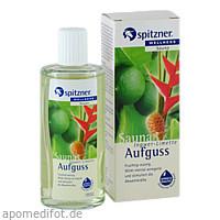 Spitzner Saunaaufguss Ingwer-Limette Wellness, 190 ML, Dr.Willmar Schwabe GmbH & Co. KG