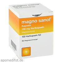 Magno Sanol Kapseln, 100 ST, APONTIS PHARMA Deutschland GmbH & Co. KG
