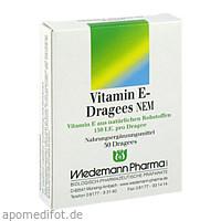 Vitamin E-Dragees NEM, 50 ST, Wiedemann Pharma GmbH