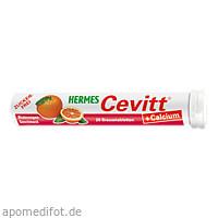 Hermes Cevitt Calcium Blutorange, 20 ST, Hermes Arzneimittel GmbH
