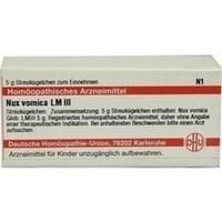 LM Nux vomica III Globuli, 5 G, Dhu-Arzneimittel GmbH & Co. KG