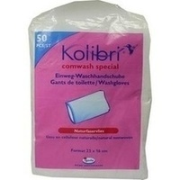 Kolibri comwash Special Waschhandsch weiss 16x24cm, 50 Stück, Igefa Handelsgesellschaft Mbh&Co. KG
