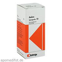 SYNERGON KOMPL AMBRA 10, 50 ML, Kattwiga Arzneimittel GmbH