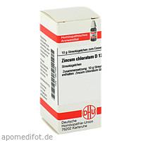 Zincum chloratum D12, 10 G, Dhu-Arzneimittel GmbH & Co. KG
