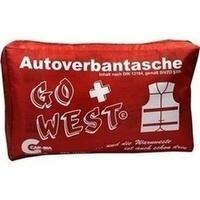Senada CAR-INA Autoverbandtasche Go West rot, 1 ST, Erena Verbandstoffe GmbH & Co. KG