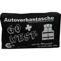 Senada CAR-INA Autoverbandtasche Go West schwarz, 1 ST, Erena Verbandstoffe GmbH & Co. KG
