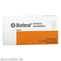 BIOFANAL Vaginaltabletten, 12 ST, Dr.R.PFLEGER GmbH